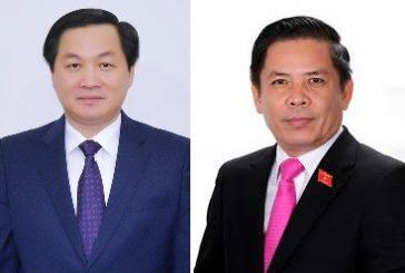 Ứng cử viên Bộ trưởng Giao thông và Tổng thanh tra chính phủ mới