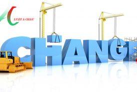 Thủ tục thay đổi đăng ký kinh doanh cho doanh nghiệp