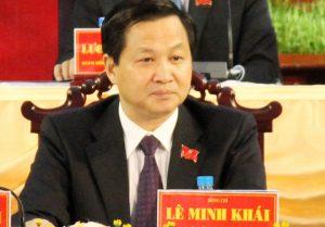 Ông Lê Minh Khải - Bí thư tỉnh ủy Bạc Liêu