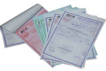 Thủ tục tự in, đặt in, mua hoá đơn tại Khánh Hoà