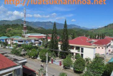 Thủ tục xin giấy phép vận chuyển hoá chất tại huyện Diên Khánh